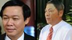Ông Vương Đình Huệ và Nguyễn Bá Thanh