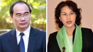 Hai tân ủy viên Bộ Chính trị