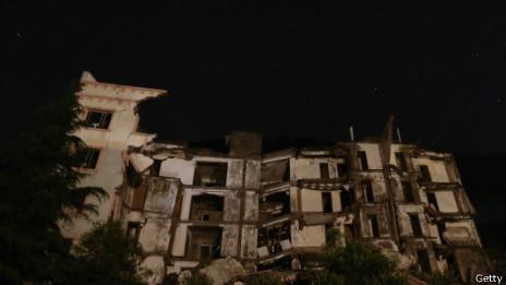北川县城地震遗址