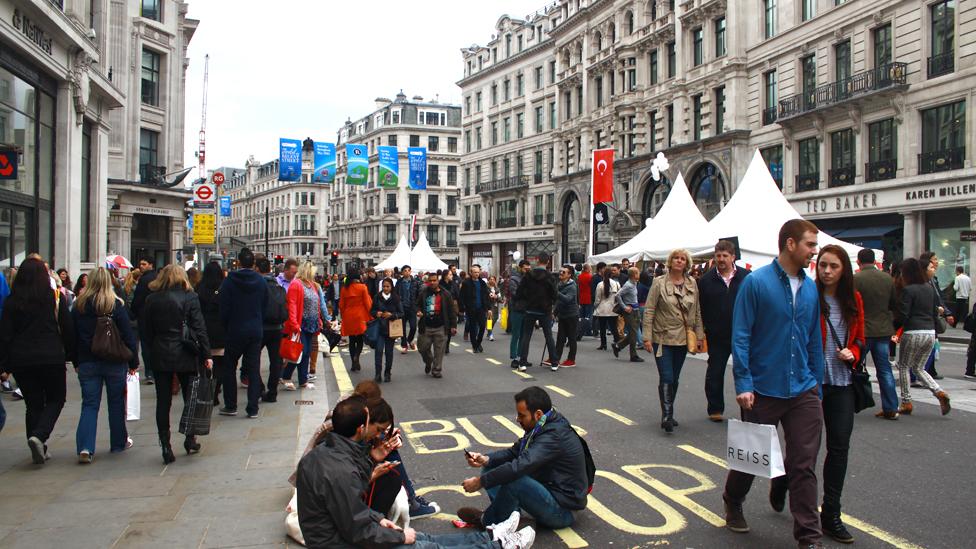 倫敦攝政街
