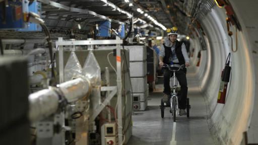Kantor organisasi penelitian nuklir Eropa, CERN di Jenewa, Swiss.