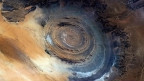 Richat Structure of Mauritania. Ảnh: Chris Hadfield
