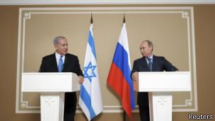 Путин и Нетаньяху обсудили урегулирование в Сирии