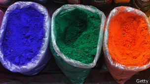 Polvo de colores