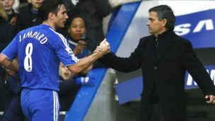 Frank Lampard dan Mourinho