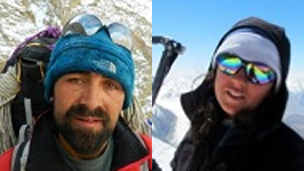 130519172558 samina and ali - First Pakistani woman to scale Everest