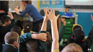 crianças na escola (foto: PA)