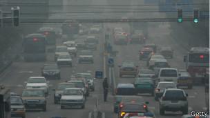 Smog en Pekín