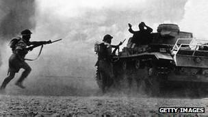 Imagen de la Segunda Guerra Mundial