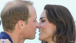 Príncipe William y su esposa