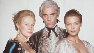 "Glenn Close, John Malkovich, Michelle Pfeiffer en ""Relaciones peligrosas"""