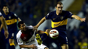 Partido entre Boca Juniors y Newell's