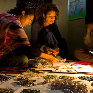 Pippa Small en Kabul