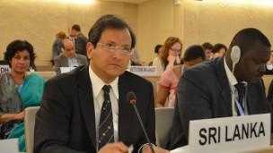 Ravinatha Aryasinghe at UNHRC