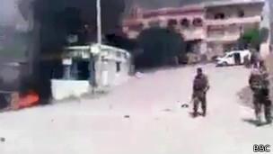 Soldados em Baniyas