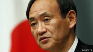 日本內閣官房長官菅義偉(資料照片)