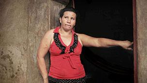 Delmy Cortés, la mamá de Beatriz. Foto: Mauro Arias  / El Faro