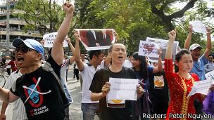 Biểu tình chống Trung Quốc hồi đầu năm 2013