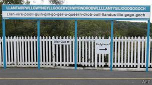 estación de tren en Gales