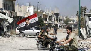 نیروهای دولتی سوریه در قصیر