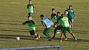 Treino do Paragominas FC (Foto: BBC)