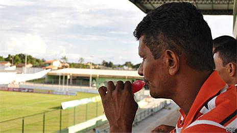 Torcedor do Paragominas Foto BBC