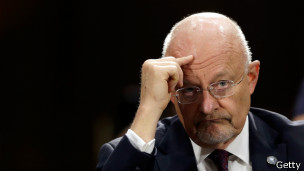 James Clapper, director de Inteligencia Nacional de Estados Unidos