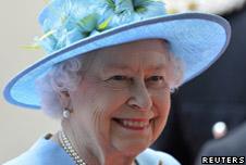 The British Queen, Queen Elizabeth II.
