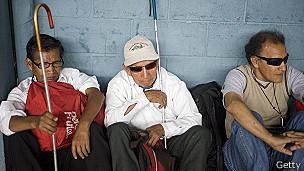 Ciegos en Guatemala