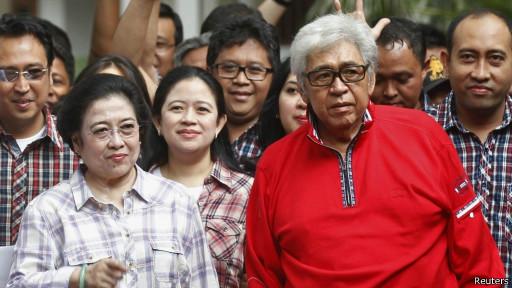 Megawati dan Taufiq Kiemas