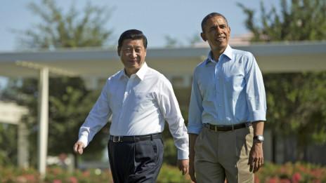 习近平和奥巴马