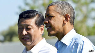 Presidentes de China y Estados Unidos, Xin Jinping y BarackObama
