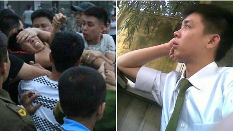 Người trấn áp biểu tình và cảnh sát bị tố cáo Lê Anh Tùng