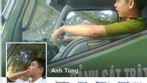 Facebook của công an viên Lê Anh Tùng