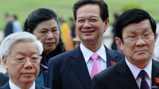 越南领导人2012年照片
