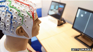 Experimento con sensores cerebrales