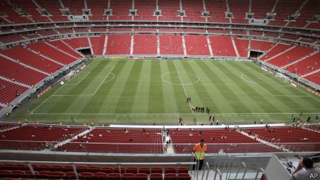 Estádio Mané Garrincha | Foto: AP