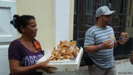 Người bán hàng rong ở Havana
