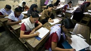 Escuela en India