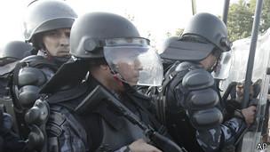 Policía en Río de Janeiro