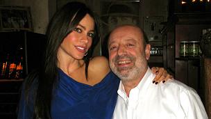 El dueño del Carlitos Gardel con Sofía Vergara