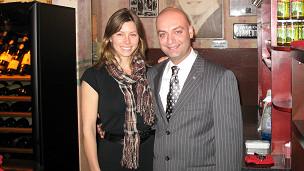 Jessica Biel con el hijo mayor de los Bozoghlian
