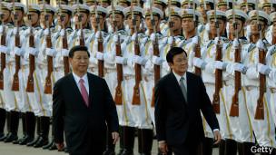 Ông Trương Tấn Sang ngày 19/6/2013 tại Bắc Kinh