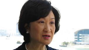 香港行政会议成员、新民党主席叶刘淑仪(19/06/2013)