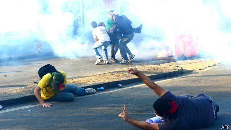 Manifestantes no Rio de Janeiro, dia 16 de junho | Foto: AFP