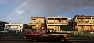 Aunto antiguo en La Habana
