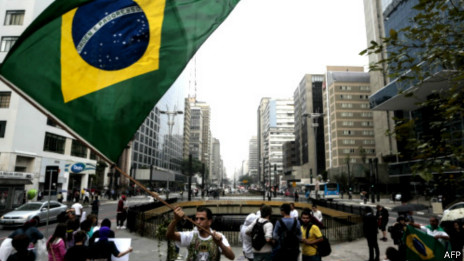 Biểu tình ở Sao Paolo