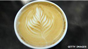 Café con adorno