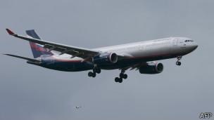 俄罗斯航空飞机SU213