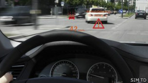 coches genera advertencias
